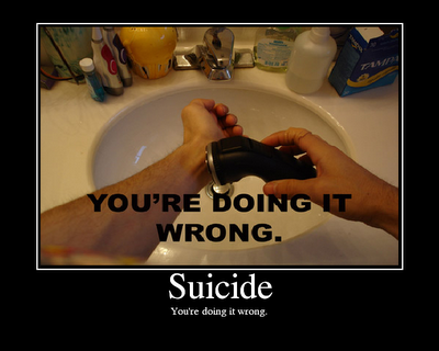 Suicide: Have you ever considered taking your own life? I did this weekend