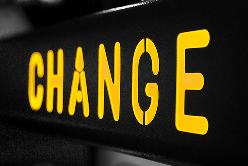 On the concept of change