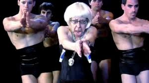 Old Lady Gaga–Being A Courageous, Outrageous, Sexy Senior!
